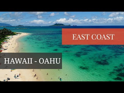 East Shore Oahu Hawaii | 4K Drone Video