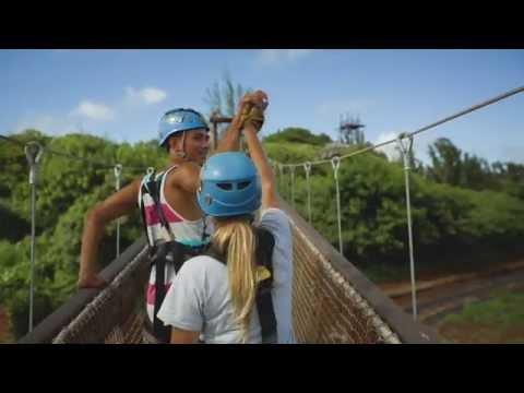 ZIPLINE OAHU, HAWAII – CLIMB Works Keana Farms