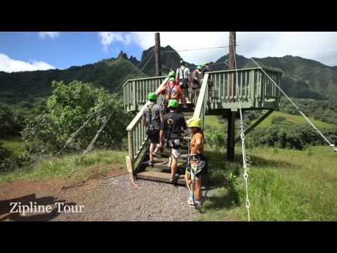 Zipline Tour at Kualoa Ranch