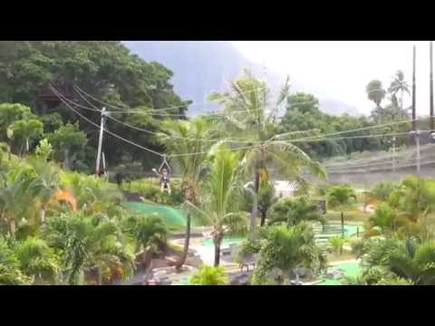 Ziplining at BayView