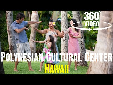 Polynesian Cultural Center 360 4K! - Hawaii
