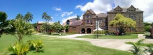 bishop museum entrance panorama