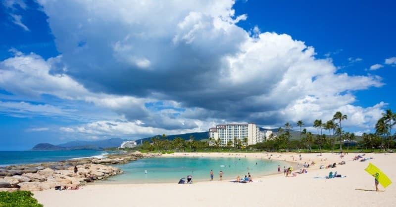 Ko olina Manmade Lagoon in Oahu Hawaii