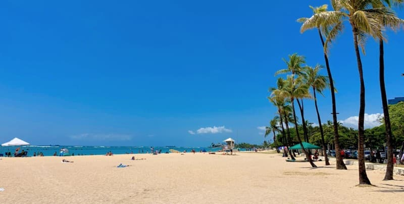 Ala Manoa Beach