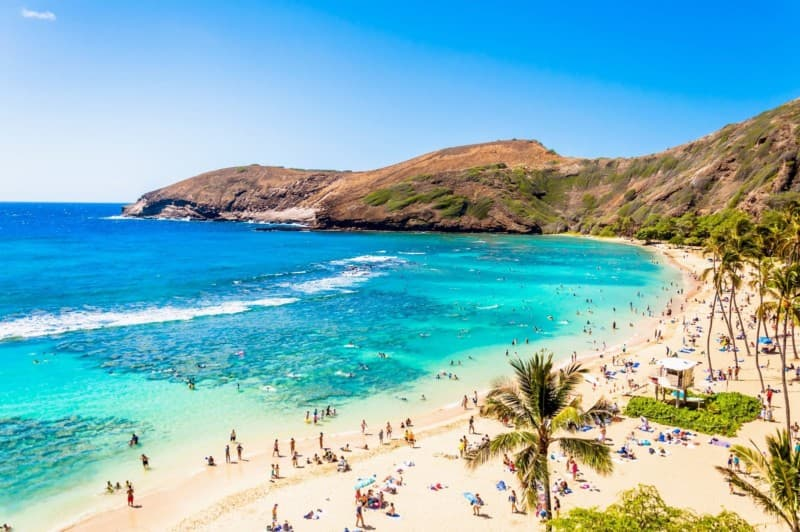 Hanauma Bay on O'ahu